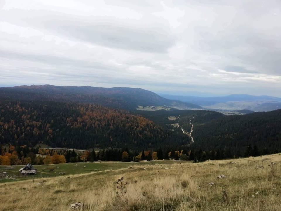 jesen panorama kukotnica
